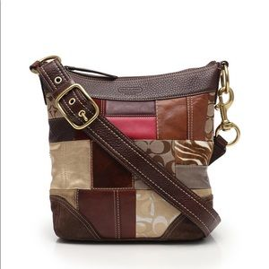 Coach Limited Edition 10435 Holiday Patchwork